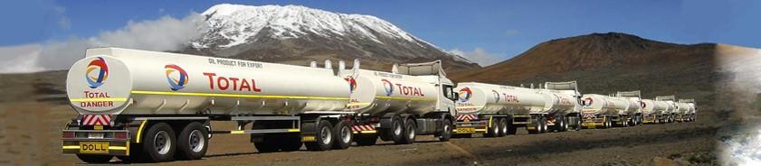tanker transport tanzania